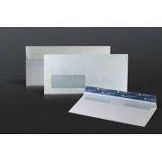 Prémium Business boríték LA/4 110x220 mm, szilikonos, bal 35x90 mm ablakos, bélésnyomott