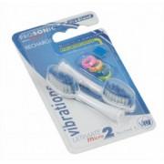 Náhradná zubná kefka ProSonic Micro 2 Visiomed: Medium (Zubná kefka)