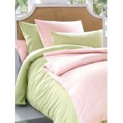 Irisette Bettbezug ca. 155x200cm, Kissenbezug ca. 80x80cm Irisette rosé