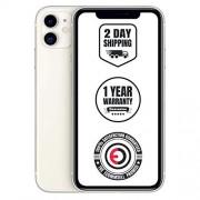 Apple iPhone 11, 128 GB, Desbloqueado, Blanco (renovado)