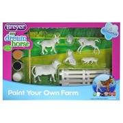 Breyer Stablemates Paint Your Own Farm Craft Activity Set