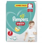 Pampers Pants vel. 7 kalhotkové plenky 40 ks