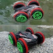 Ajmeri Traders Water Driving Car, Stunt Car, Rc Car Drive On Water, Land, Sand 360 Degree Flips