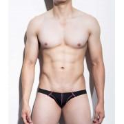 Mategear So Nam Flat Front Half Back Series II Mini Bikini Swimwear Black 1101202