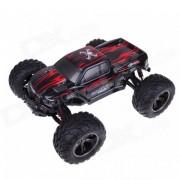 1:12 40KMH 2.4GHz de alta velocidad RC Monster Truck Toy - Rojo + Negro