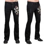 pantaloni (jeans) WORNSTAR - Vanguard - Nero - WSGP-VGD