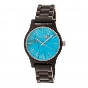 Earth Wood Tuckahoe Marble-Dial Bracelet Watch - Black ETHEW4805