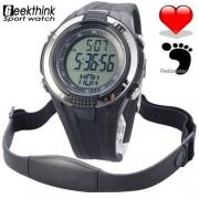 Спортен часовник с Функция за измерване на пулса и крачкомер1