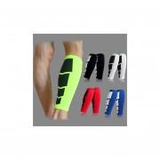 Protección Deportiva Unisex Sport Calf Brace Soporte Ejercicio De Compresión Running Running Cycling Sleeve-rojo