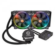 Cooler CPU Thermaltake Water 3.0 Riing RGB 240, racire cu lichid