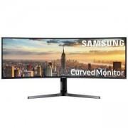 Монитор Samsung 43 CJ890 (LC43J890DKUXEN) Super Ultra Wide, Curved, 3840x1200, 32:10, 300cd/m2, 1800R, DisplayPort, HDMI, USB-C
