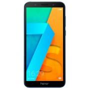 "Telefon Mobil Huawei Honor 7S, Procesor Quad-Core 1.5GHz, LCD Capacitive touchscreen 5.45"", 2GB RAM, 16GB Flash, 13MP, Wi-Fi, 4G, Dual Sim, Android (Albastru) + Cartela SIM Orange PrePay, 6 euro credit, 6 GB internet 4G, 2,000 minute nationale si internat"