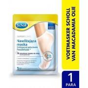 SCHOLL HYDRATERENDE PEDIMASK MCADAMIA Nucifera Olie – REGENEREREND VOET MASK-Eeltsokken-Scholl-Voeten masker-Voetverzorging-Eeltsoken-Huidverzorging- Scholl Het vochtinbrengende voetmasker verzorgt de droge huid op je voeten.