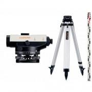 Nivela Optica AL26 -set cuTrepied si Mira 5m-Laserliner