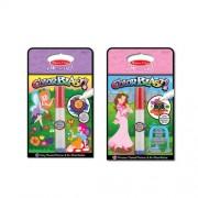 Melissa and Doug Color Blast Bundle - Princess and Fairy, Multi Color