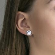 Emily Westwood ezüst színű Fülbevaló WE1026S