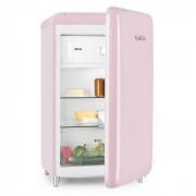 PopArt Pink Retro Frigorífico Combinado com Congelador A ++ 108 L/13L Rosa