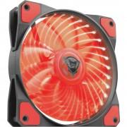 Ventilator za PC kućište Trust GXT 762R Crna, Crvena (Š x V x d) 120 x 120 x 25 mm