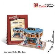 CubicFun 3D Puzzle World Style-Series Turkiye Flavor - Ceramics Shop
