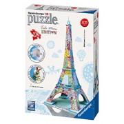 Ravensburger 3D Puzzles Tula Moon Eiffel Tower, Multi Color (216 Pieces)