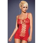 Dress red sukienka D300 (czerwony)