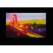 LED Bild San Francisco 91x61cm