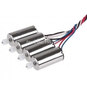 Generic Original Motor 4pcs X5S X5SC X5SW Motors Engine AB with Wheel Gear for RC Quadcopter Accessories X5S X5SW X5SC