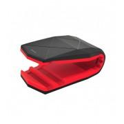 "Astrum SH560 univerzális multifunkciós nanopados autós tartó 3.5"" - 6.0"" -ig fekete-piros"