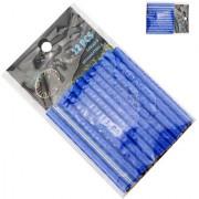 Futaba Bicycle Wheel Rim Spoke Tube Reflective Strip - 12Pcs - Blue
