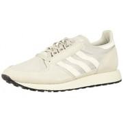 Adidas Forest Grove Zapatillas para Hombre, Color Grey/Cloud White/Core Black, 8.5