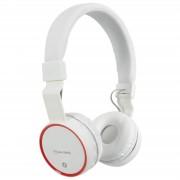 AV: Link Draadloze Bluetooth On-Ear Noise Cancelling Koptelefoon - Wit