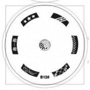 Disco Estampado B120