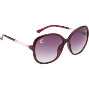 Clark n' Palmer Grey UV Protection Over-sized Women Sunglasses