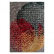 Kurzflor Teppich in Bunt abstraktem Muster