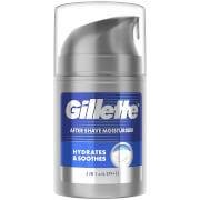 Gillette Aftershave Moisturiser - Hydrates and Soothes 50ml