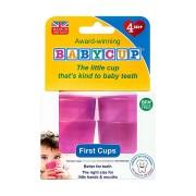 Primul meu pahar pentru bebelusi si copii Babycup Roz 4+