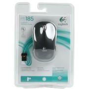 LOGITECH - Souris Optique sans fil USB - M185 Gris