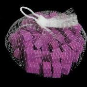 Houten blokjes aubergine 15 cm
