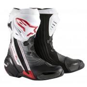 Alpinestars Stivali Moto Racing Supertech R Black Red White Cod. 2220015