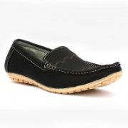 Mr. Chief Ben 10 loafer Loafers For Men(Black)
