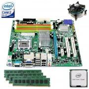 Kit Placa de baza Acer MG43M + Intel Quad Core X3330 2.66GHz + 4GB DDR3 + Cooler