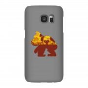 Nintendo Donkey Kong Silhouet Mangrove Telefoonhoesje - Samsung S7 - Snap case - glossy