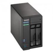 Мрежов сторидж, Asustor AS6102T, 2-bay NAS, Intel Celeron N3050 ( up to 2.16GHz), 2 GB DDR3L/AS6102T