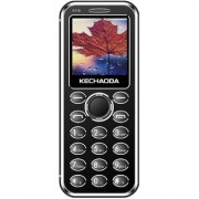 KECHAODA K115 Slim Card Size Bluetooth Dialer Dual Sim Phone With External Memory Slot 1.44 Inch Display