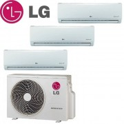 LG Climatizzatore Condizionatore Lg Trial Split Inverter Standard 12+12+12 Con Mu4m25
