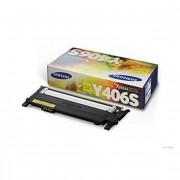 Samsung CLP-360 (CLT-Y406/ELS) Yellow Lasertoner, Original 1000 print