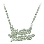Justin Bieber feliratú nyaklánc