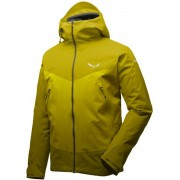 Salewa Ortles PTX 3L Stretch - giacca con cappuccio alpinismo - uomo - Yellow