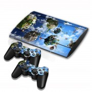 Sony patroon Series Stickers voor PS3 Game Console