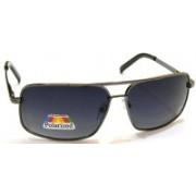 G-Plus Rectangular Sunglasses(Black, Grey)